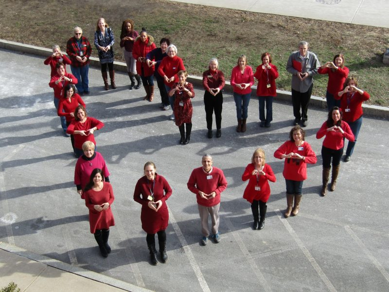 SHS National Wear Red Day